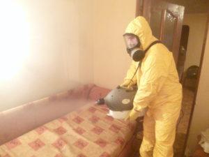 Дезинфекция и уничтожение клопов СЭС в Москве в квартире с гарантией.
